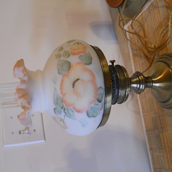 Fenton student lamp