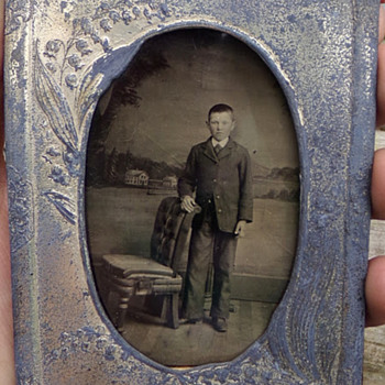 Cased Tin Type