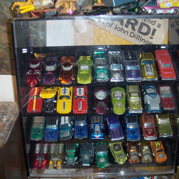 Hot wheels red line collection