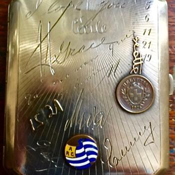 1920's French cigarette case