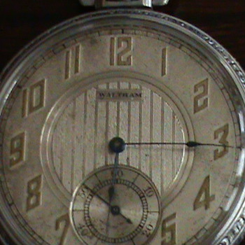 my pocket watch left to me from my father in law - Pocket Watches
