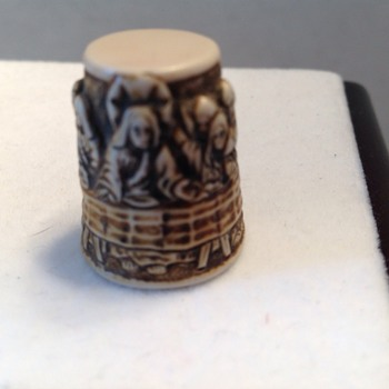 Unique thimble of Jesus with the 12