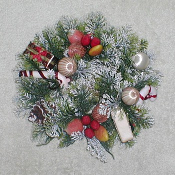 Christmas Door Wreath - Christmas