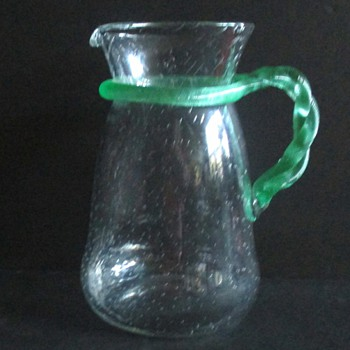 LATE LOETZ PITCHER, SQUARE MARK.