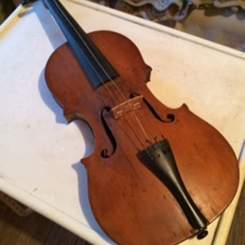 Violin passed down from my grandfather