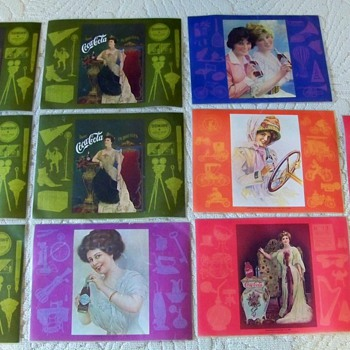 Just found Coca Cola placemats in closet are they worth anything? - Coca-Cola