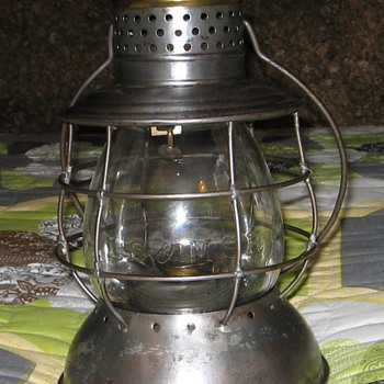 1871 LS &amp; MS Ry lantern. Made by Parmelee &amp; Bonnell