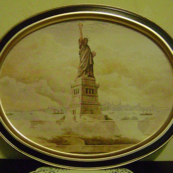 Statue of Liberty Tray - Advertising