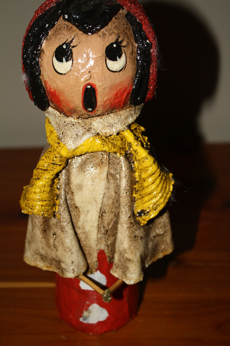 Paper mache dolls collectors weekly for Papier mache art for sale