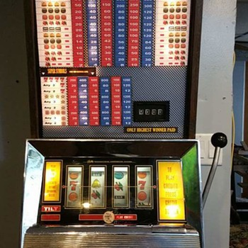 My Bally Gaming Super Continental Slot Machine - Coin Operated