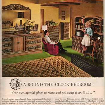 1968 - Johnson-Carper Furniture Advertisement - Advertising
