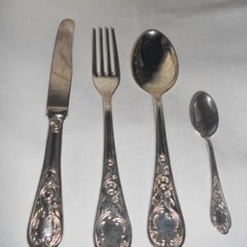 Old flatware - Sterling Silver