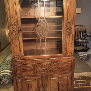 Grandmothers Antique china cabinet