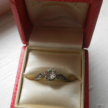 Flea Market Crystal Ring