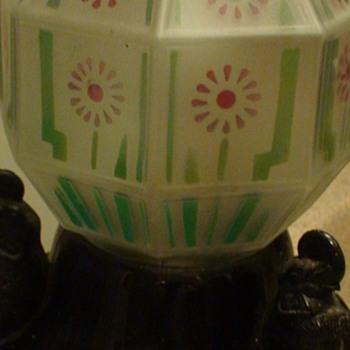 Elephant Art Deco Lamp