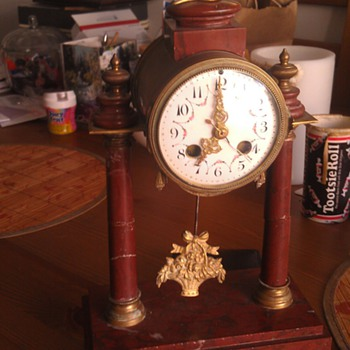 Vintage French Mantel Clock Help I.D. - Clocks