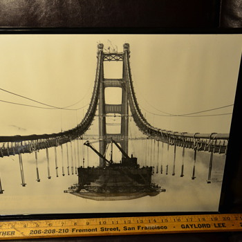 Fairly recent large reprints of historic San Francisco photos - Photographs