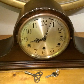 1930 Herman Miller Camel Back Clock