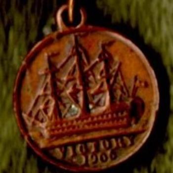1905 Nelson Centenial Charm