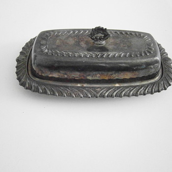 Butter Dish - Sterling Silver