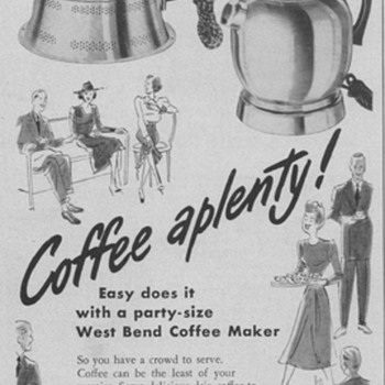 1950 West Bend Cookware Advertisements