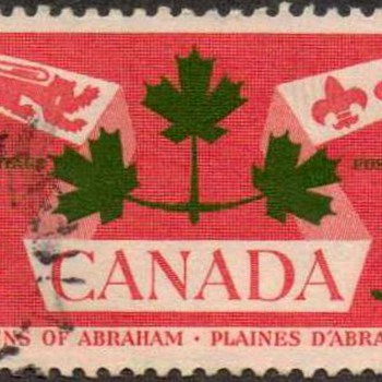 "1959 - Canada ""Battle of Quebec"" Postage Stamp - Stamps"