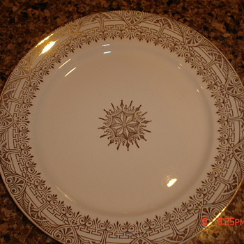 Stetson 22 KT Gold China - China and Dinnerware