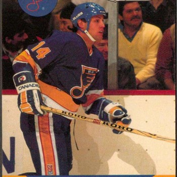 1990 - Hockey Cards (St. Louis Blues)