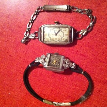 ladies elgin and boluva - Wristwatches