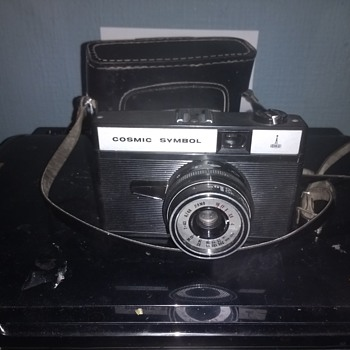 Its Cosmic Man! The Cosmic Symbol A Russian 1970s film camera an export to the UK in fully working condition.