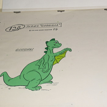Godzilla (animated series) Model Cel's  - Movies