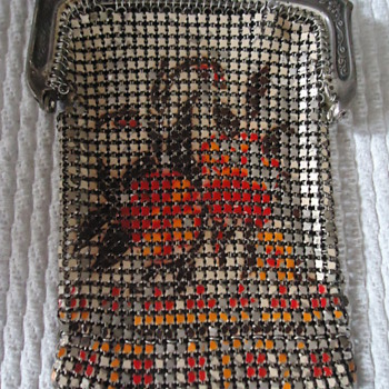 Very Nice And Original...Whiting &amp; Davis Mesh Purse...1920&#039;s - Bags
