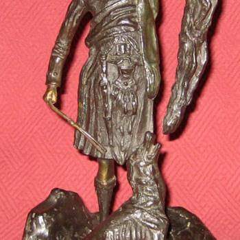 Pierre-Jules Mêne Bronze Scottish Hunter With Fox Sculpture  - Visual Art
