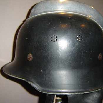German Firefighting helmet - Firefighting