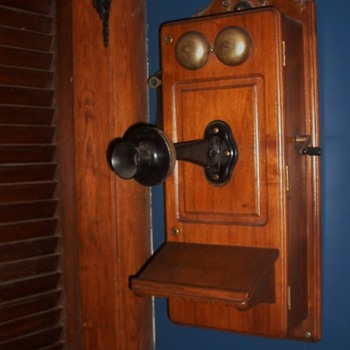 Antique Kellogg Phone