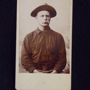 Spanish American War New Jersey Volunteer