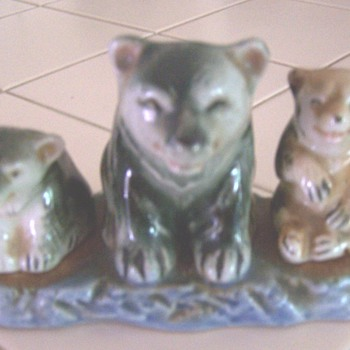 Bear 3 piece salt & pepper - Kitchen