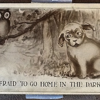 Old post card - Postcards