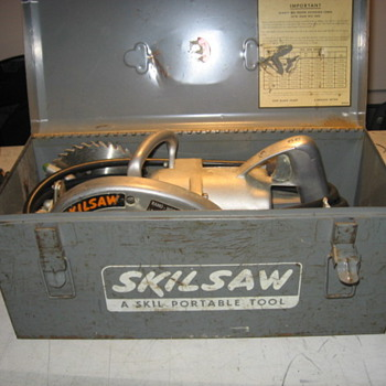Skil Saw age - Tools and Hardware