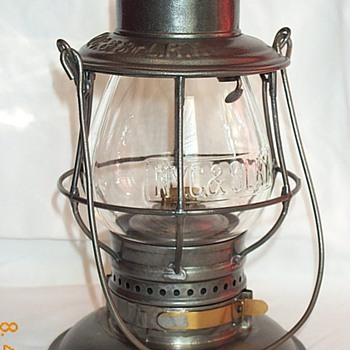 New York, Chicago & St. Louis RY (NICKEL PLATE) Railroad Lantern