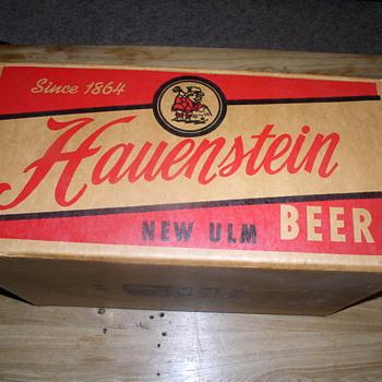35 beers Hauenstein case 1962