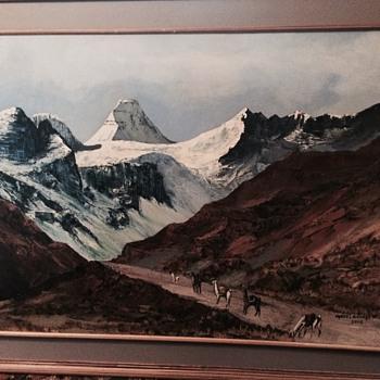 BOLIVIA Painting by Carlos L Encinas ARTIST BIO? - Visual Art