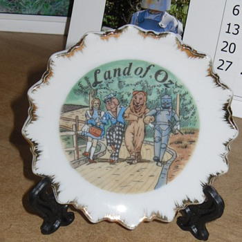 land of oz mini plate - Kitchen