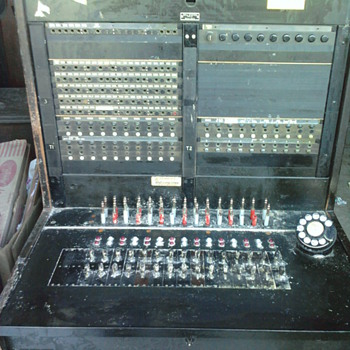 Switchboard from storage auction. - Telephones