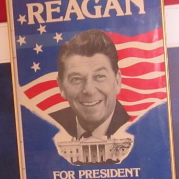 Reagan for President Poster