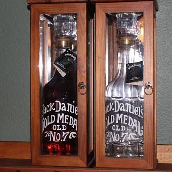 Jack Daniel's 1904 Centennial Gold Medal Replica Bottle - Bottles