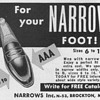 1953 - Narrows Shoes Advertisement