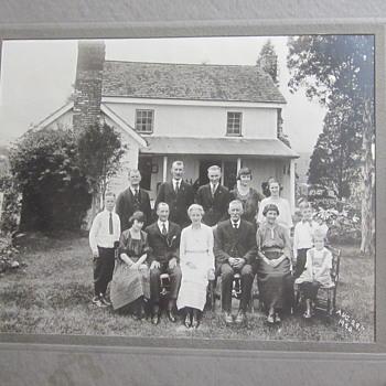 Family Reunion Gettysburg 1920 - Photographs