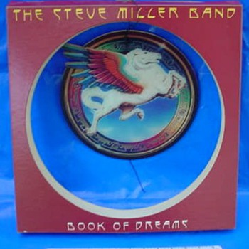 "Steve Miller ""Book of Dreams"" 1977 3-D Mobile Store Display - Music"