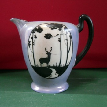 James Studio China - Pitcher/Creamer